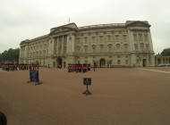 Buckingham Palace - changing of the guards