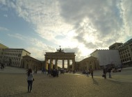 Brandenburg Gate in the late afternoon