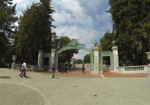 Sather Gate by Glen Chen