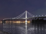The beautiful new east span of the Bay Bridge
