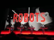 "Kraftwerk performing ""The Robots"" in 3D"