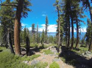 Hiking the beautiful Rubicon Trail at Emerald Bay