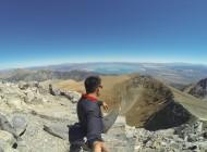 Overlooking Mono Lake from the summit of Mount Dana