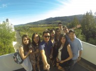 Wine Wednesday crew at Sterling Vineyards